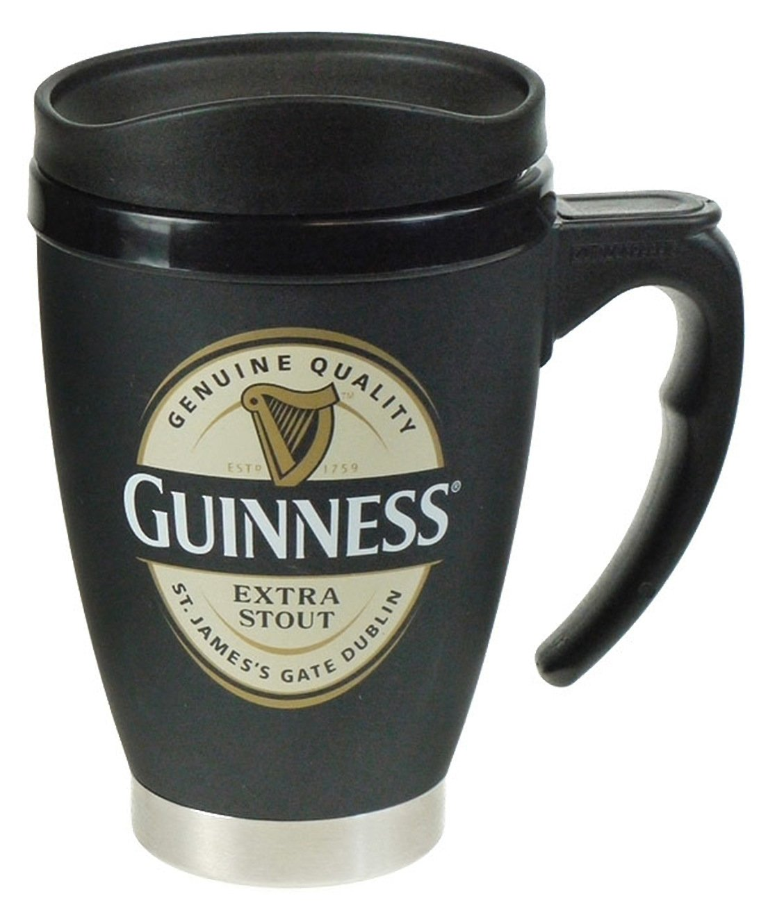 Guinness Standard Label Travel Mug
